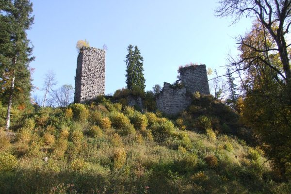 Ruine Roggenbacher Schlösser