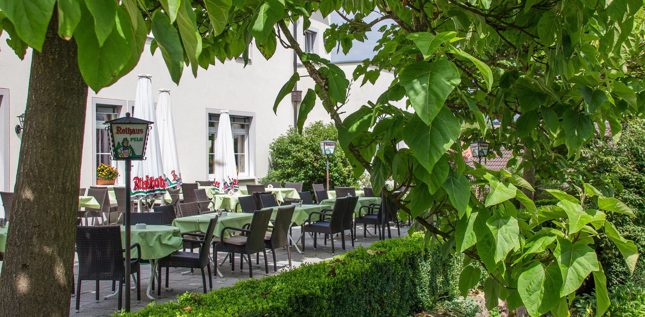 Gasthaus Kreuz Riedern - Terrasse