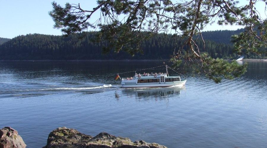 Bootsfahrten auf dem Schluchsee